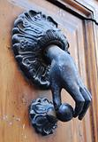 A doorknocker