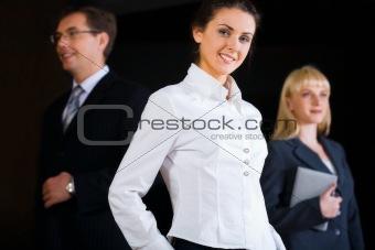 Smart business lady