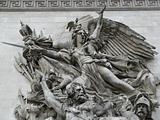 Sculptures of the french Triump Arch