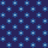 Blue spiny snowflake wrapping