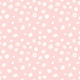 Hand drawn seamless rose spots texture