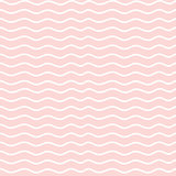 Hand drawn seamless rose and white irregular wave line texture