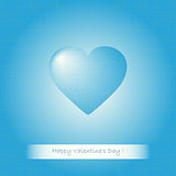Blue heart Valentines