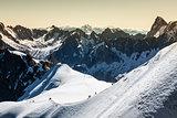 The Alps over Chamonix