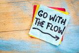 Go with the flow advice