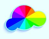 cloud in rainbow