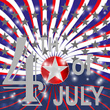 USA 4th july background.