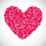 Heart Background Vector Illustration