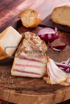 Bacon background.