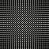 black and white seamless pattern of circles