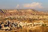 mountains in Cappadocia Turkey