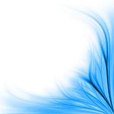 Blue floral border background