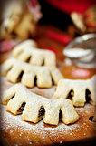 Cuddureddi, Sicilian Christmas Cookies, vintage effect, copy spa