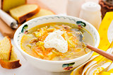 Russian Fresh Cabbage Soup, Shchi (Stchi)