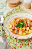 Russian Sauerkraut Soup, Shchi (Stchi)