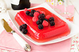 Fresh Raspberry and Champagne Jelly