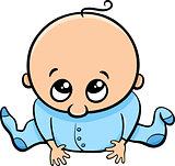 cute baby boy cartoon