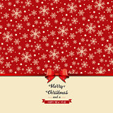 Christmas bow background