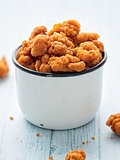 rustic popcorn chicken