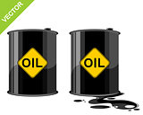 Two barrels of oil