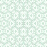 Vector green ornamental pattern - seamless.