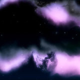 Purple space nebula background