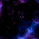 Space background with nebula