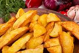Potatoes fried in lard