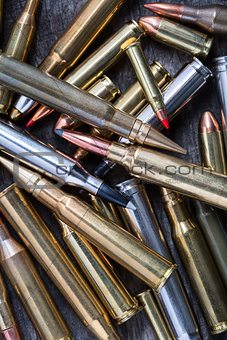 Ammunition for firearms