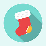 Christmas Sock Icon