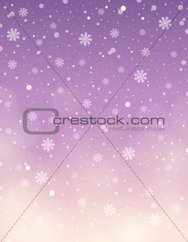 Abstract snow theme background 8