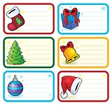 Christmas name tags collection 4