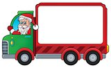 Christmas theme delivery car image 3