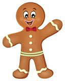 Gingerbread man theme image 1