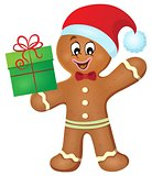 Gingerbread man theme image 2