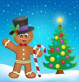 Gingerbread man theme image 4