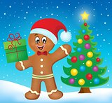 Gingerbread man theme image 5