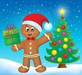 Gingerbread man theme image 5