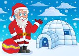 Igloo with Santa Claus theme 4