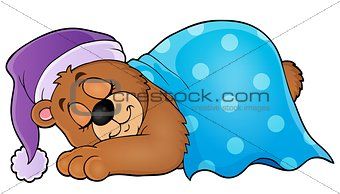 Sleeping bear theme image 1