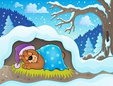 Sleeping bear theme image 2