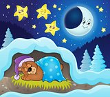 Sleeping bear theme image 3