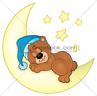 Sleeping bear theme image 4