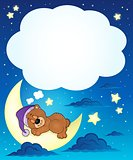 Sleeping bear theme image 6