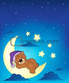 Sleeping bear theme image 7