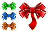 Set bow in different color