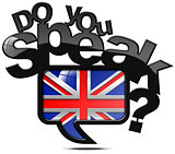 Do You Speak English - Speech Bubble