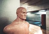 Sports mannequin in gym