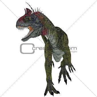 Cryolophosaurus Dinosaur Aggression
