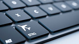 keyboard flight mode sign